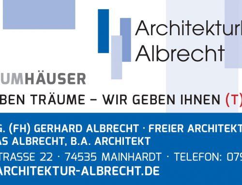 Das Architekturbüro Albecht auf Facebook