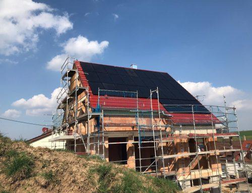 Neubau eines Einfamilienhauses mit Garage und Stellplatz