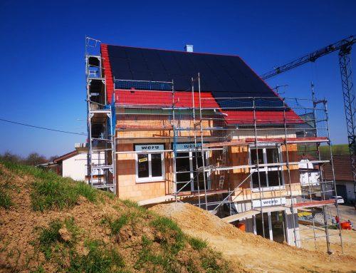 Baustellen-Update : Neubei eines Einfamilienwohnhauses mit Garage und Stellplatz